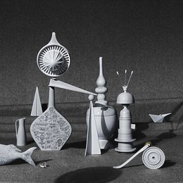 Hommage to Yves Tanguy by Studio Tina Hausmann
